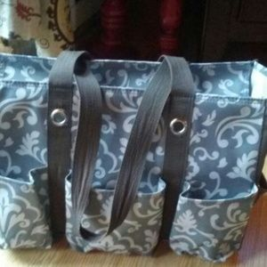 Thirty One zipper tote